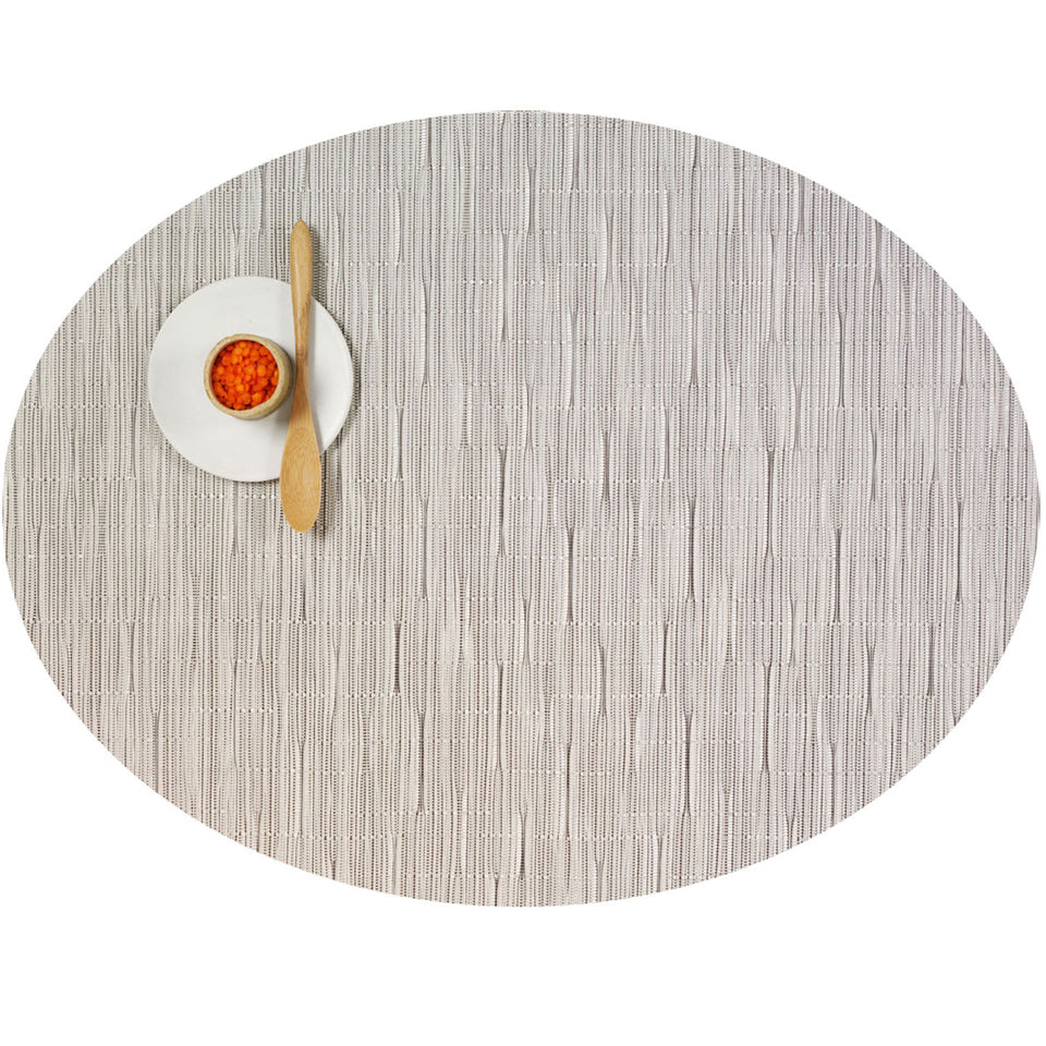 Chalk Bamboo Placemats &  Runner by Chilewich