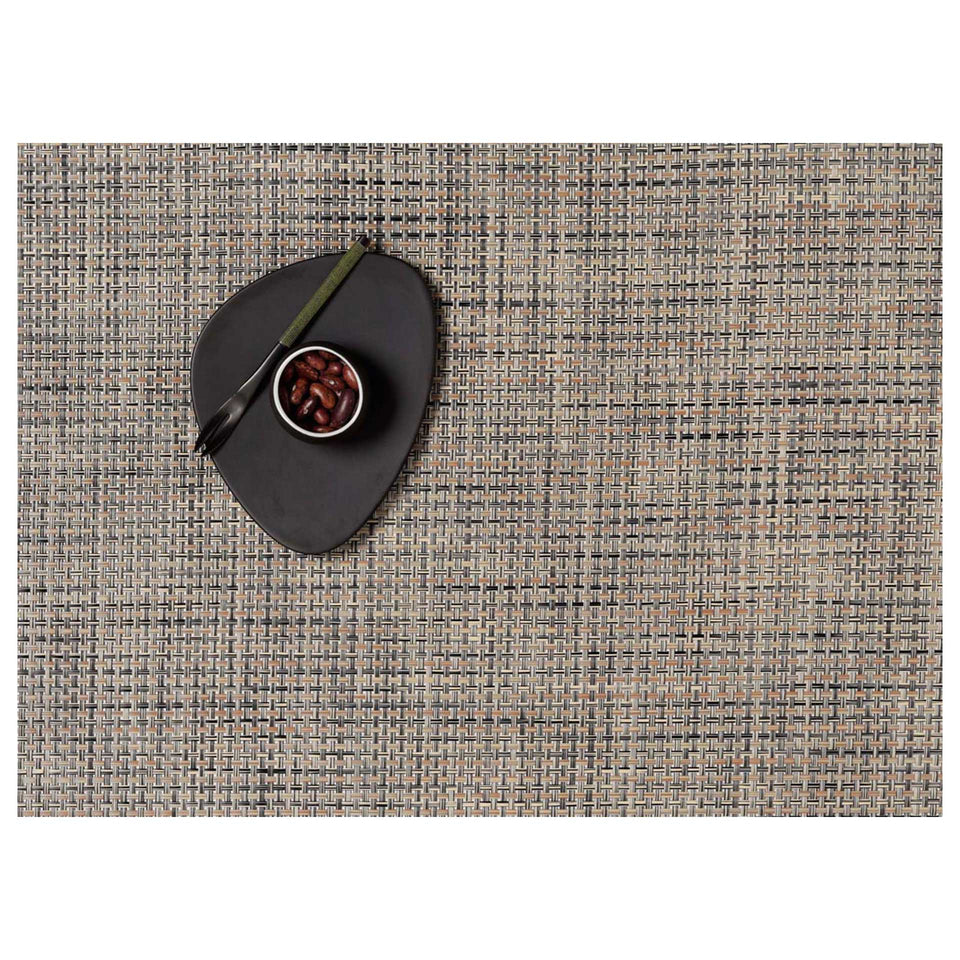 Bark Basketweave Placemat & Runner by Chilewich
