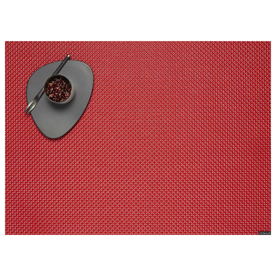 Chili Basketweave Placemats & Runner by Chilewich