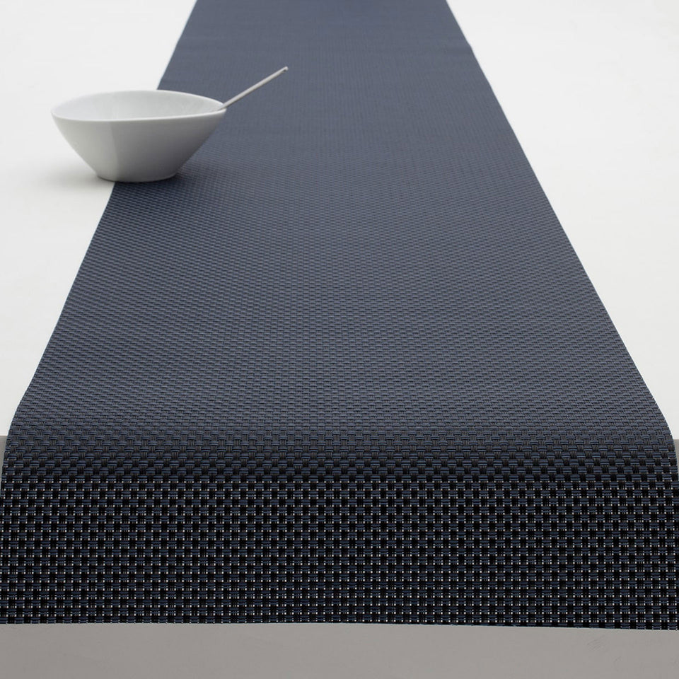 Navy Basketweave Placemats & Runner by Chilewich