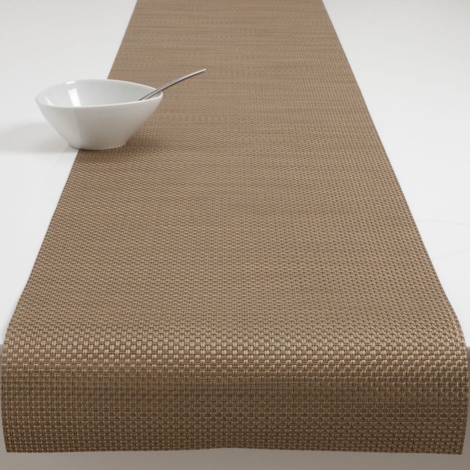 New Gold Basketweave Placemats & Runner by Chilewich