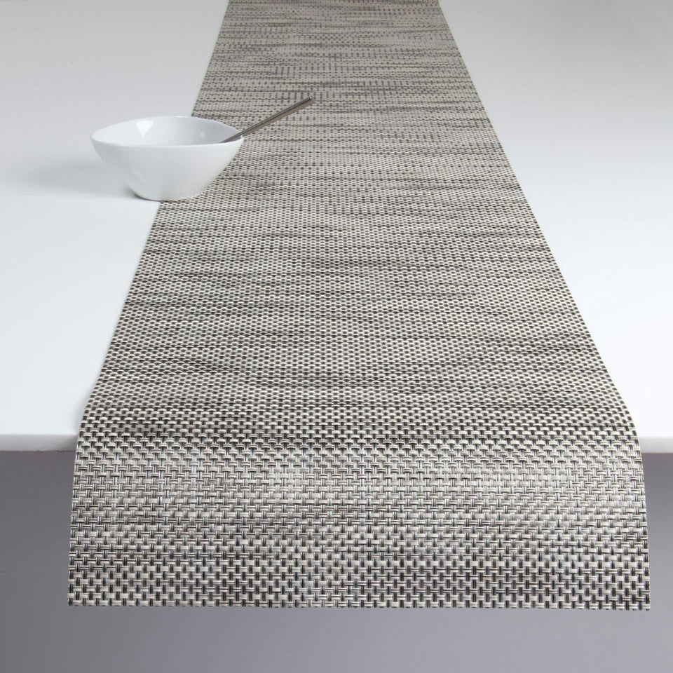 Oyster Basketweave Placemats & Runner by Chilewich