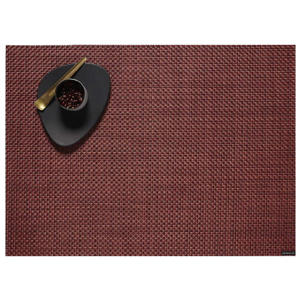 Pomegranate Basketweave Placemats & Runner by Chilewich