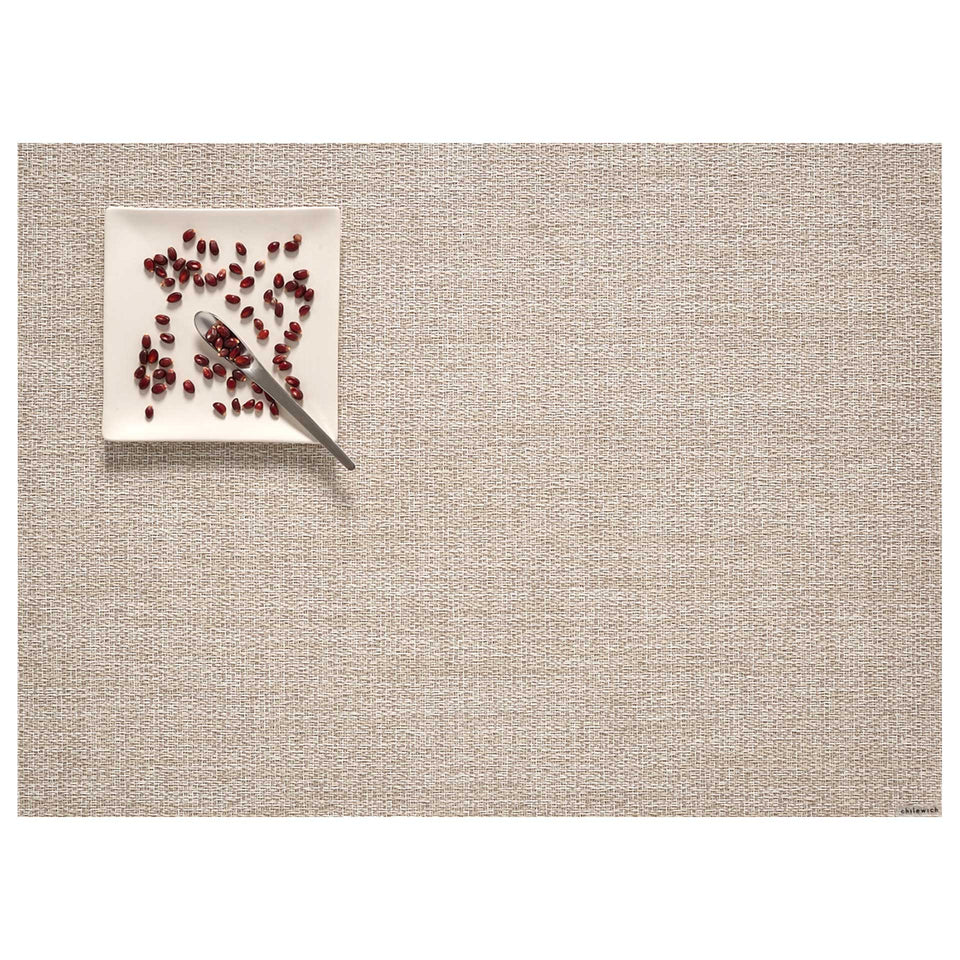 Natural Boucle Placemat & Runner by Chilewich
