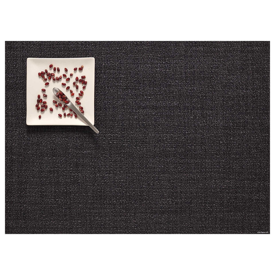 Noir Boucle Placemat & Runner by Chilewich