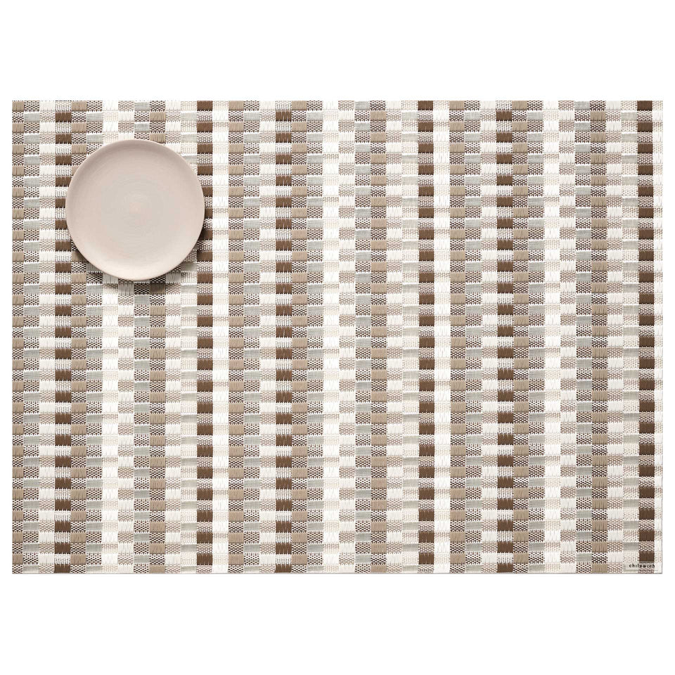 Pebble Heddle Placemat by Chilewich