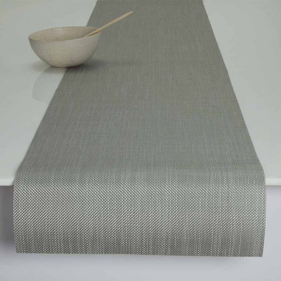 Aloe Mini Basketweave Placemats & Runner by Chilewich