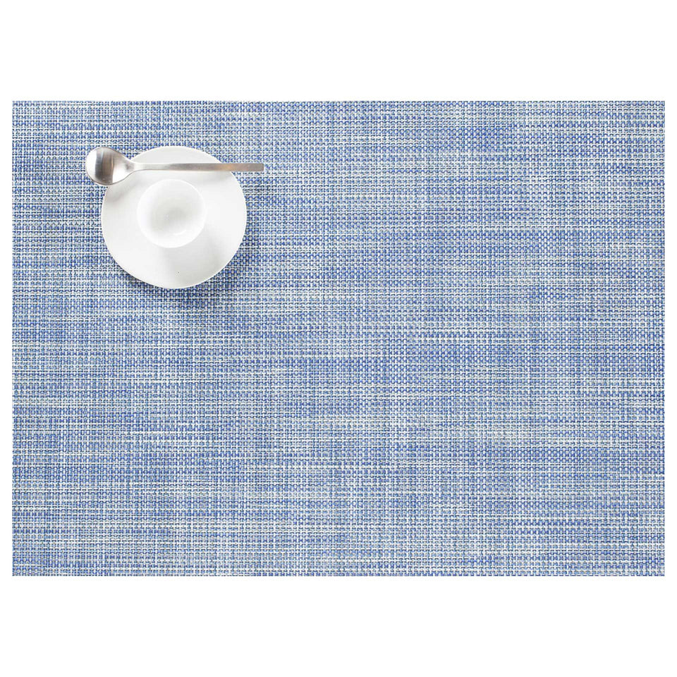 Chambray Mini Basketweave Placemats & Runner by Chilewich