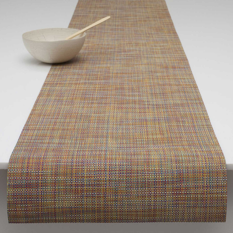 Confetti Mini Basketweave Placemats & Runner by Chilewich