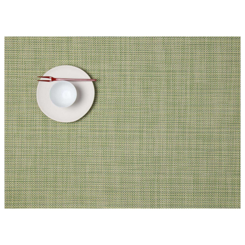 Dill Mini Basketweave Placemats & Runner by Chilewich