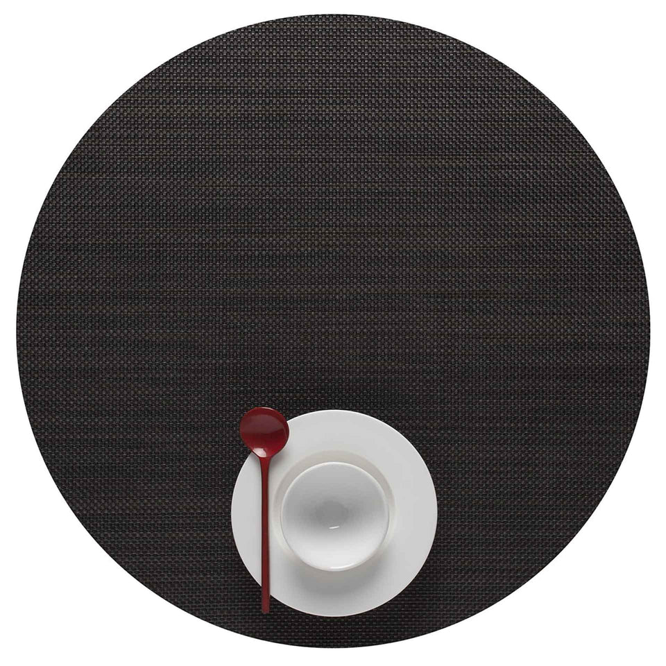Espresso Mini Basketweave Placemats & Runner by Chilewich