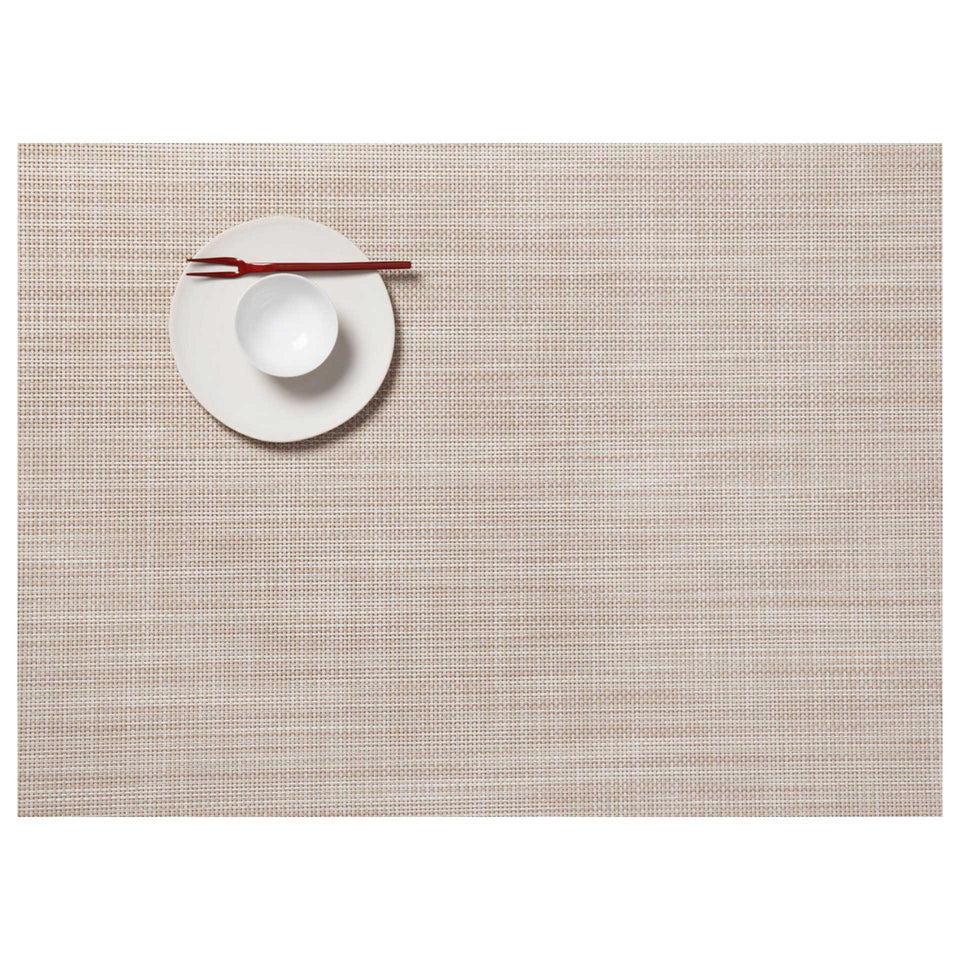 Parchment Mini Basketweave Placemats & Runner by Chilewich