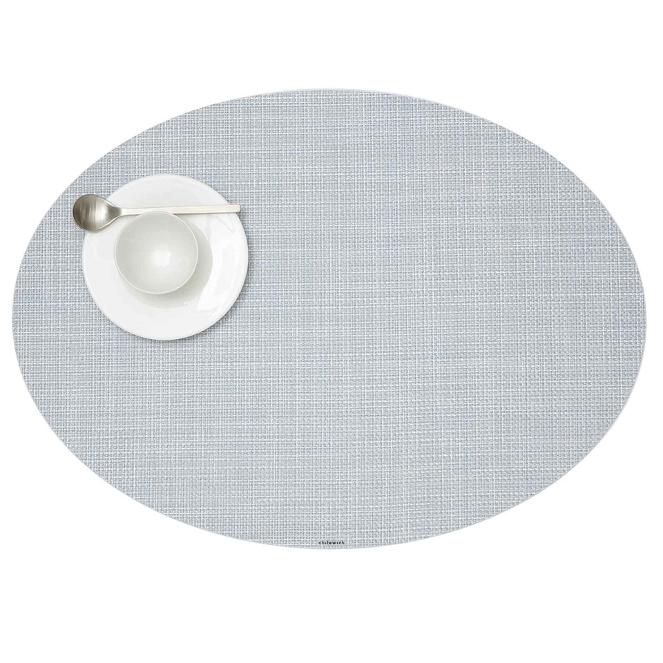Sky Mini Basketweave Placemats & Runner by Chilewich