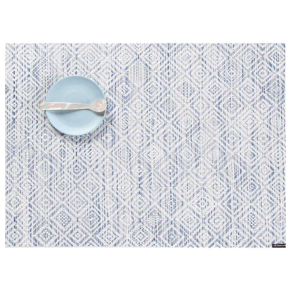 Blue Mosaic Placemat & Runner by Chilewich
