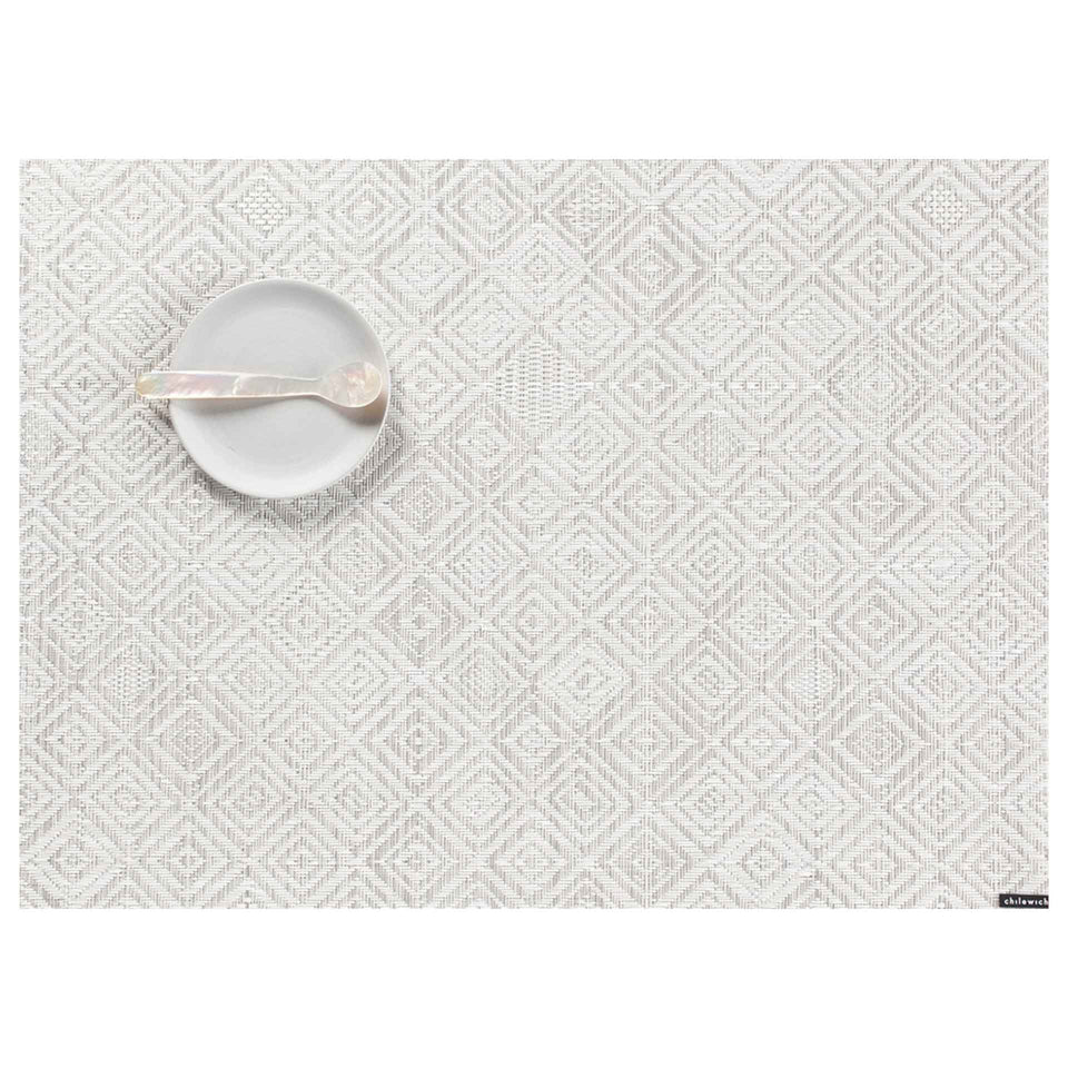 Grey Mosaic Placemat & Runner by Chilewich