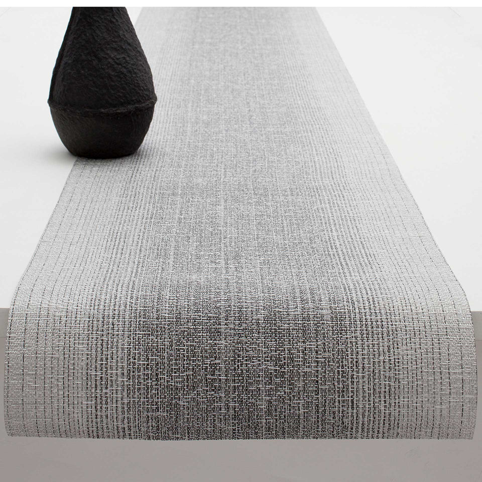 Silver Ombré Placemat & Runner by Chilewich
