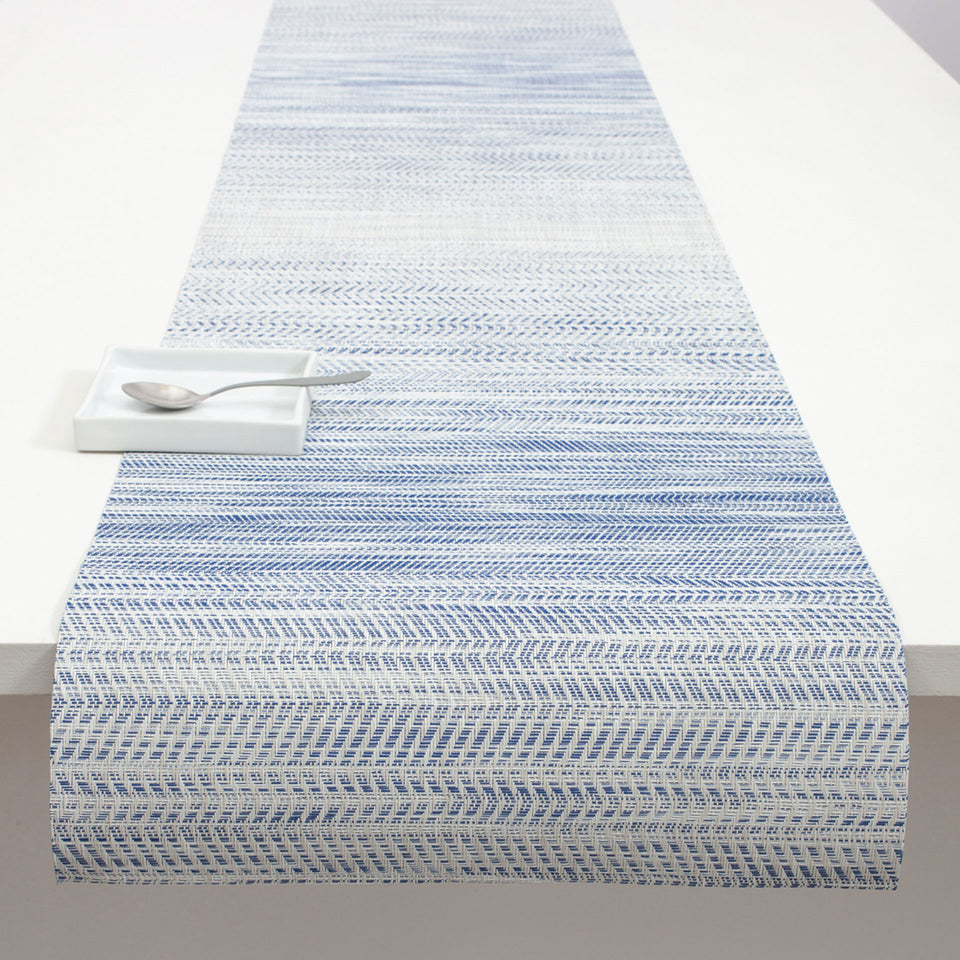 Blue Wave Placemat & Runner by Chilewich