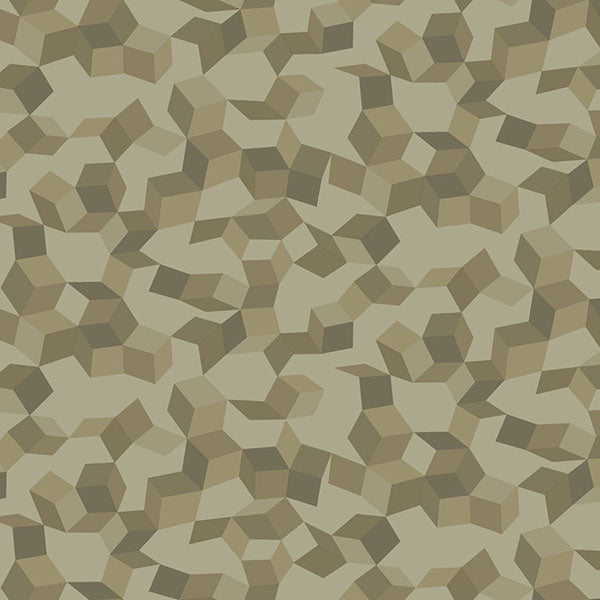 Cole & Son Wallpaper - Curio - Ingot in Olive & Gilver