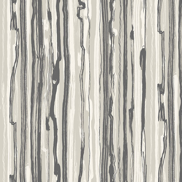 Cole & Son Wallpaper - Curio - Strand in Black & White