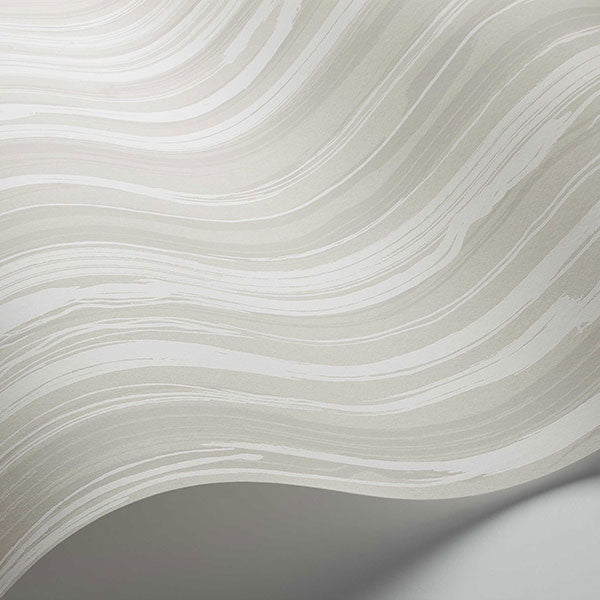 Cole & Son Wallpaper - Curio - Strand in White