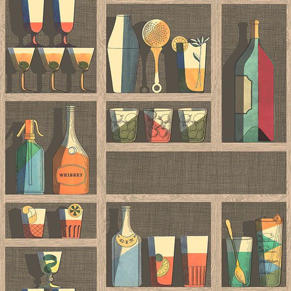 Cole & Son - Fornasetti Cocktails - Multi
