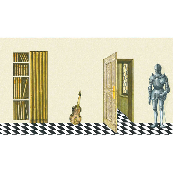 Cole & Son - Fornasetti II Magia Domestica Wallpaper - Vertigo Home