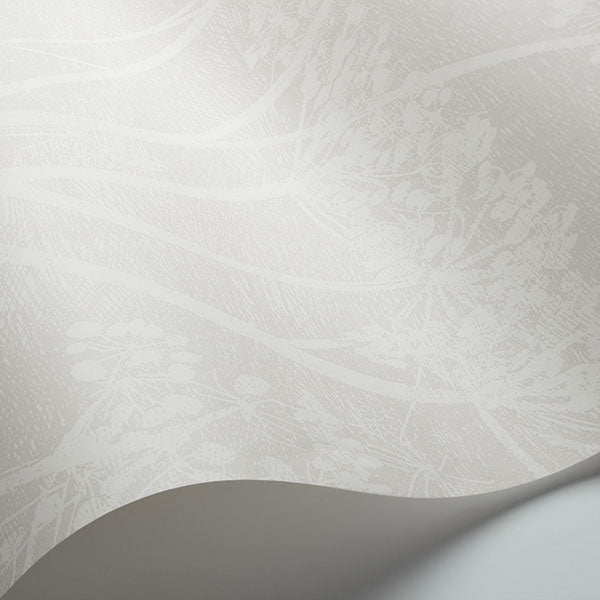 Cole & Son Wallpaper - Icons - Cow Parsley in White