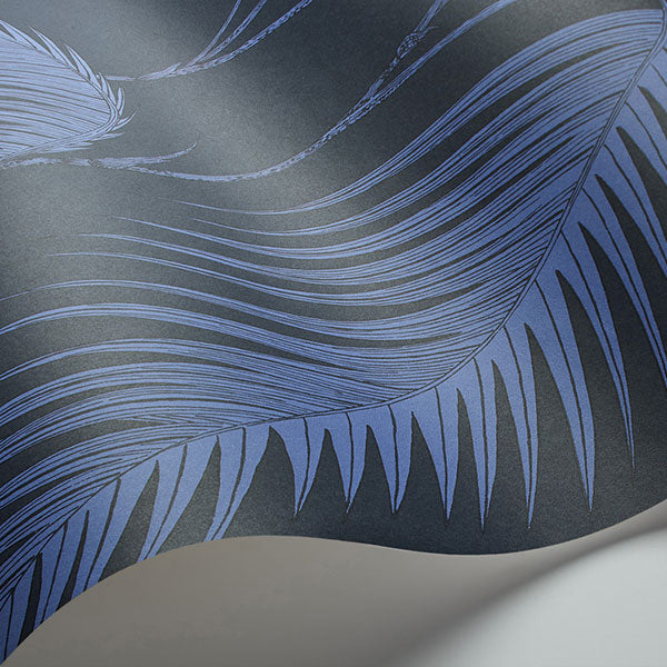 Cole & Son Wallpaper - Icons - Palm Leaves in Ink