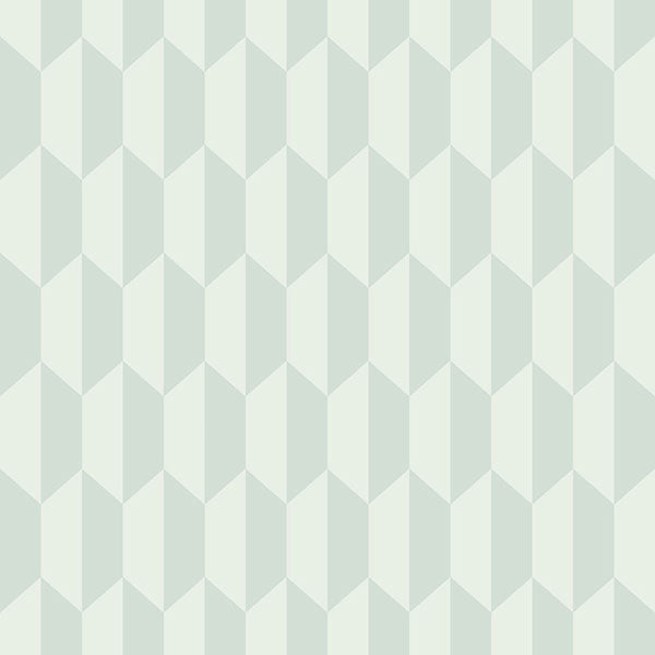 Cole & Son Wallpaper - Icons - Petite Tile in Fresh Duck Egg