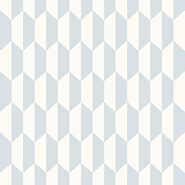 Cole & Son Wallpaper - Icons - Petite Tile in Powder Blue