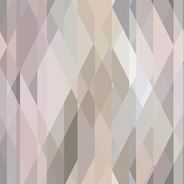 Cole & Son Wallpaper - Icons - Prism in Pastel