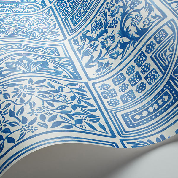 Cole & Son - Mariinsky Damask - Bellini in Blue & White