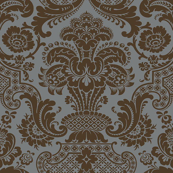 Cole & Son - Mariinsky Damask - Carmen in Charcoal