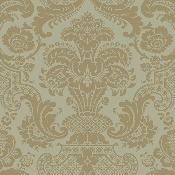 Cole & Son - Mariinsky Damask - Carmen in Khaki
