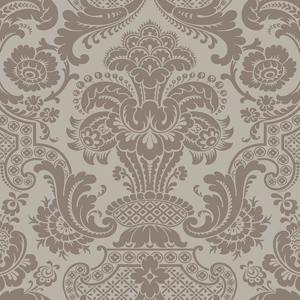 Cole & Son - Mariinsky Damask - Carmen in Mole