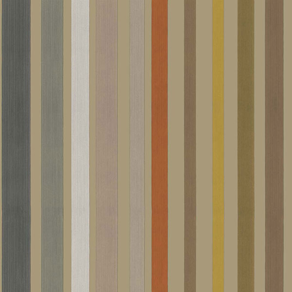 Cole & Son - Mariinsky Damask - Carousel Stripe in Linen