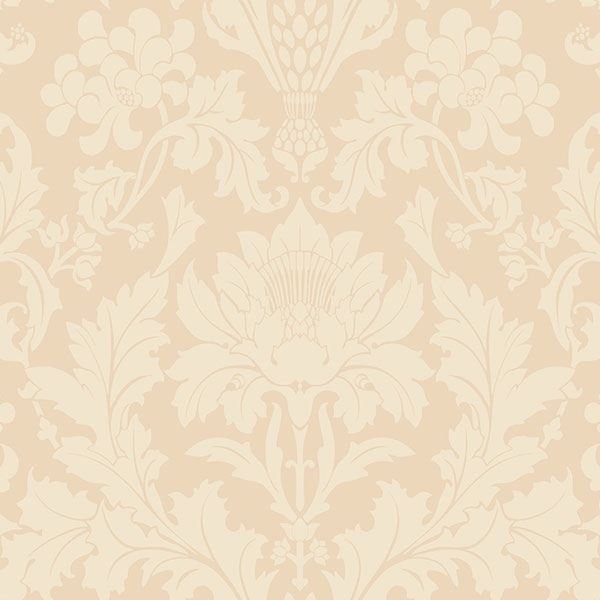 Cole & Son - Mariinsky Damask - Fonteyn in Buff