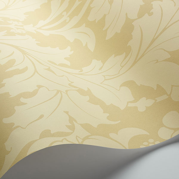 Cole & Son - Mariinsky Damask - Fonteyn in Vintage Yellow
