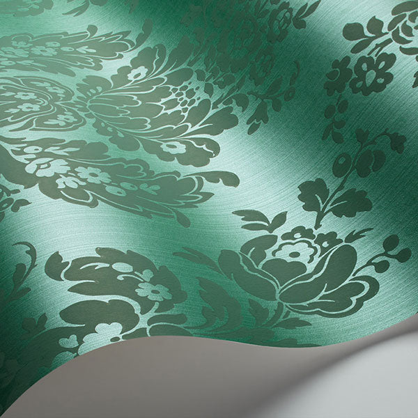 Cole & Son - Mariinsky Damask - Giselle in Forest Green