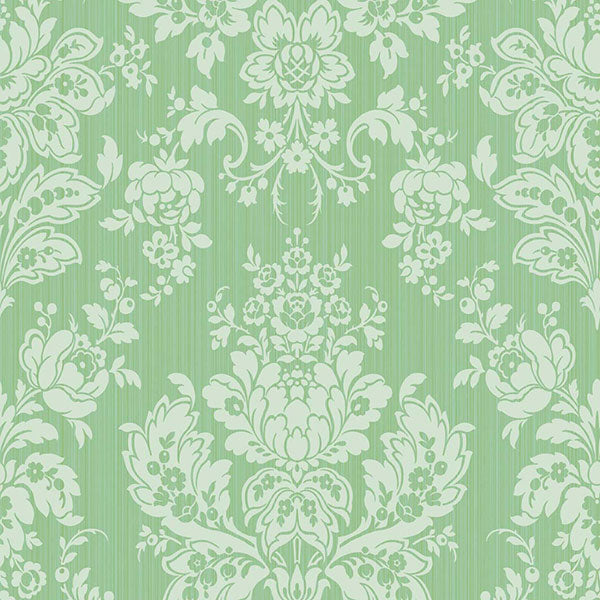 Cole & Son - Mariinsky Damask - Giselle in Leaf Green