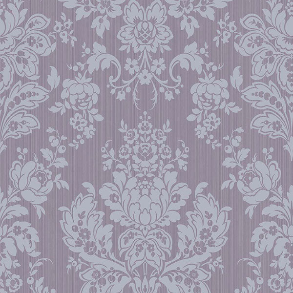 Cole & Son - Mariinsky Damask - Giselle in Plum