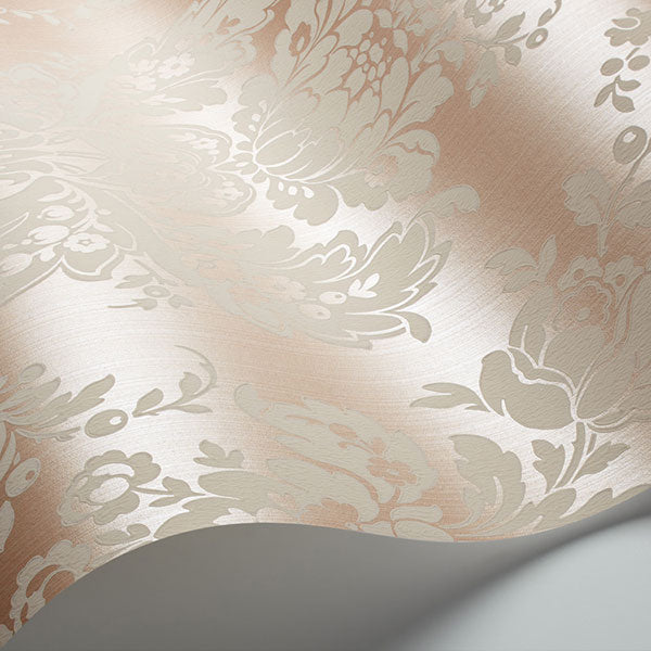 Cole & Son - Mariinsky Damask - Giselle in Shell Pink
