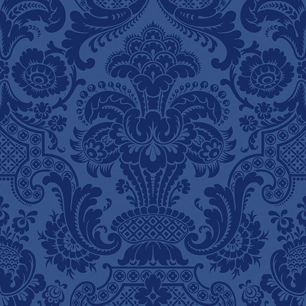 Cole & Son - Mariinsky Damask - Petrouchka in Blue