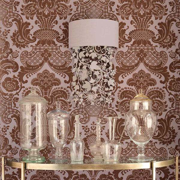 Cole & Son - Mariinsky Damask - Petrouchka in Lilac