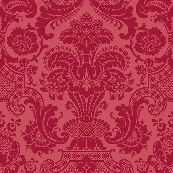 Cole & Son - Mariinsky Damask - Petrouchka in Red