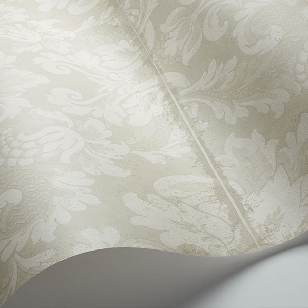 Cole & Son - Mariinsky Damask - Stravinsky in White