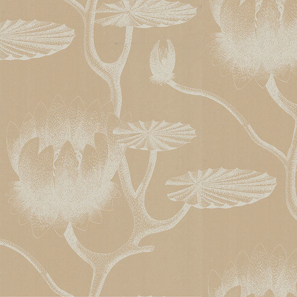 Cole & Son - New Contemporary II - Lily in Ivory & Sand