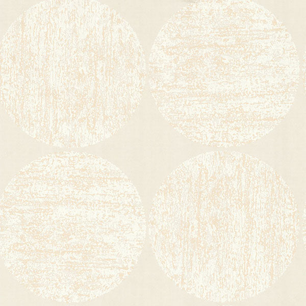 Cole & Son - New Contemporary II - Luna in White & Cream