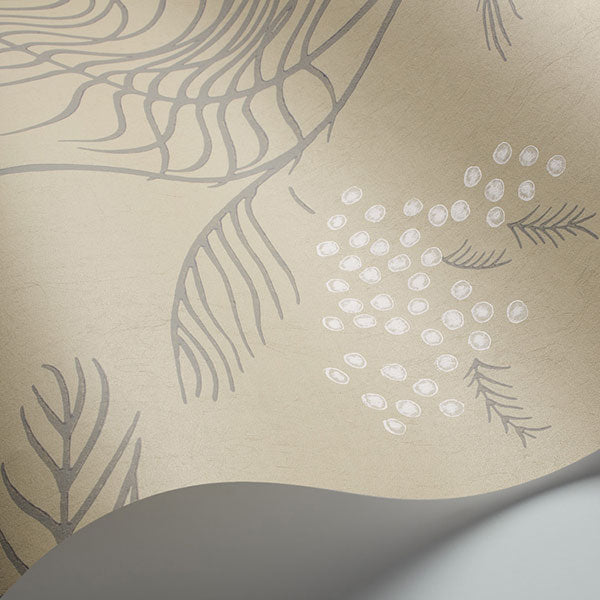 Cole & Son Wallpaper - New Contemporary II - Mimosa in Sandstone