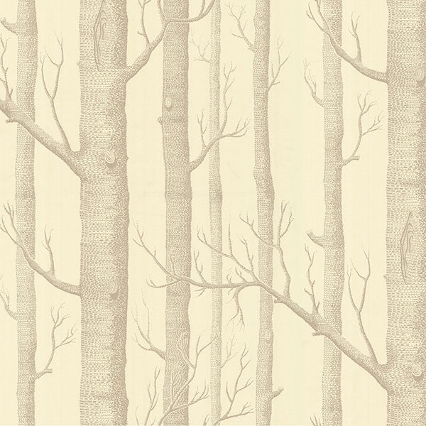 Cole & Son - New Contemporary II - Woods in Beige & Cream
